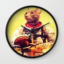 astro cat Wall Clock