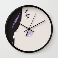 gravity Wall Clocks featuring Gravity by Wolves In Space