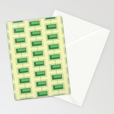 Stacked Rectangles Stationery Cards