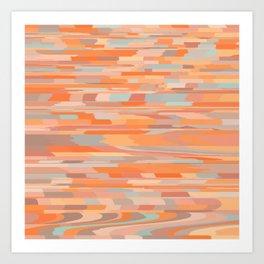 Game of Colors Art Print