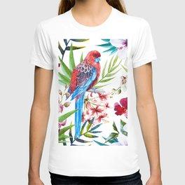 Tropical Bird Pattern 05 T-shirt