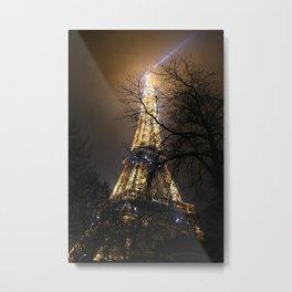 Ville des Lumières 4 Metal Print
