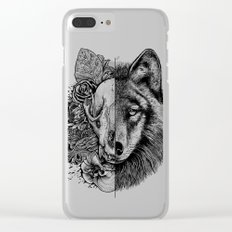 New Wolf (Half Life) Clear iPhone Case