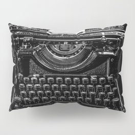 Old Typewriter Pillow Sham