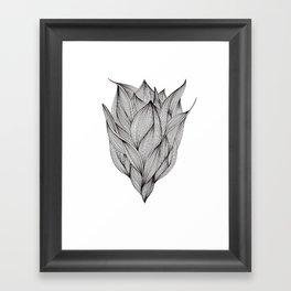 Luchtbloem Framed Art Print
