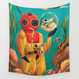 Fish Tank Wall Tapestry