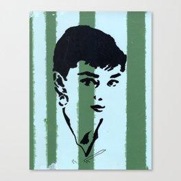 Audrey 7 Canvas Print
