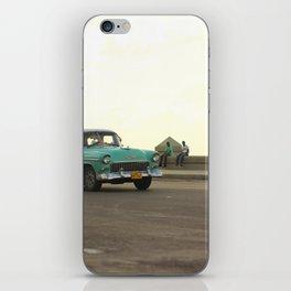 Cuba Cruising iPhone Skin