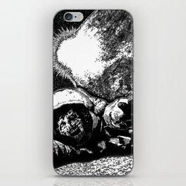 Astro Zombie iPhone Skin