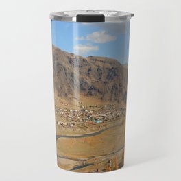 autumn Altai Mountains Travel Mug