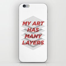 Art Snob iPhone Skin