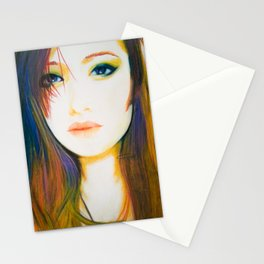Shes Not So Black and White Stationery Cards