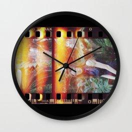 70s Film Strip Wall Clock