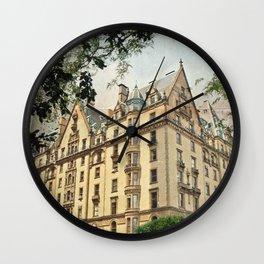 Rosemary's baby travel movie art Wall Clock