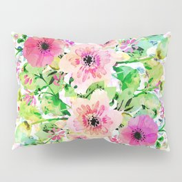 among the flowers Pillow Sham