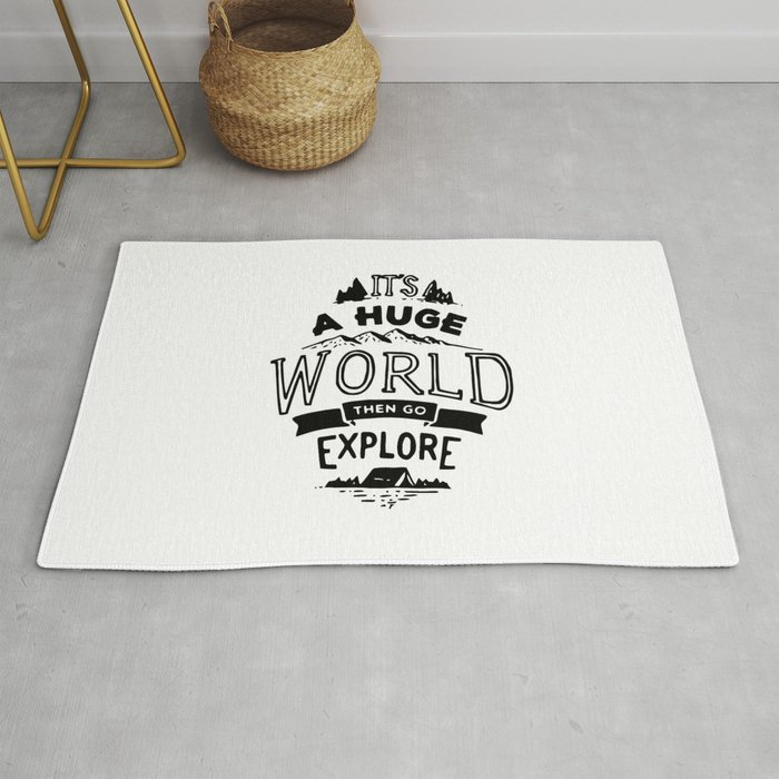 Explore The World Rug
