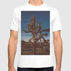 Joshua Tree National Park XX Mens Fitted Tee MEDIUM White