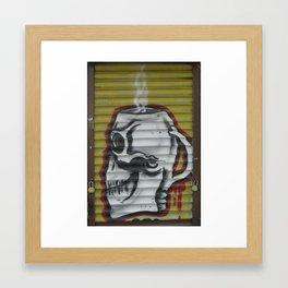 Skully Framed Art Print