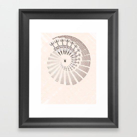 Little Universe Mandala Framed Art Print