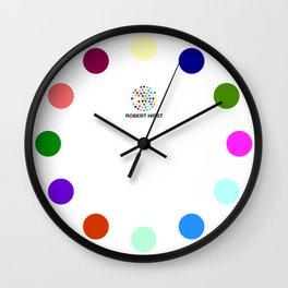 Robert Hirst Spot Clock 5 Wall Clock
