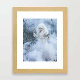 The Ghost in You Framed Art Print