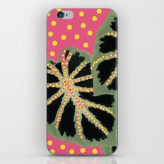 Dotty Pink iPhone Skin
