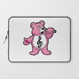 SINGING TEDDY Singer Chorus Acapella Microphone Laptop Sleeve