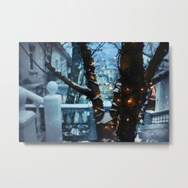 Cozy lights Metal Print