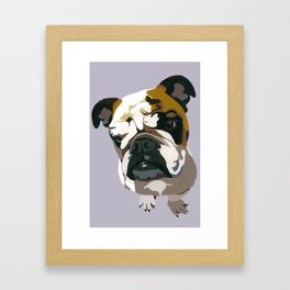 Diesel in Grey Framed Art Print