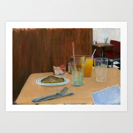 Classic Diner Art Print