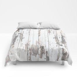 White Wood Comforters