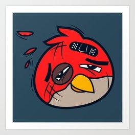 Battered Bird I Art Print