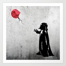 Little Vader - Inspired by Banksy Art Print