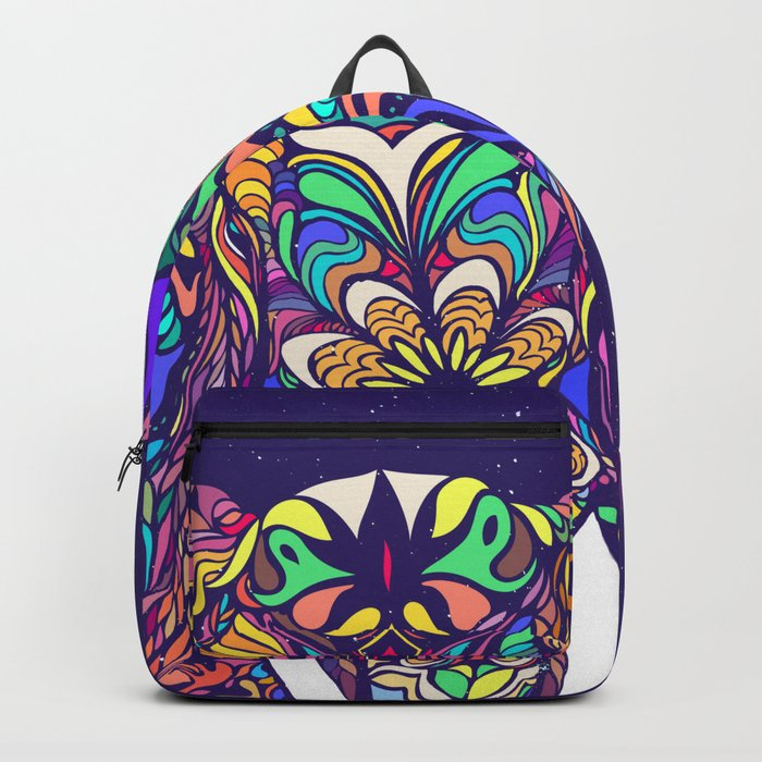 Not a circus elephant Backpack