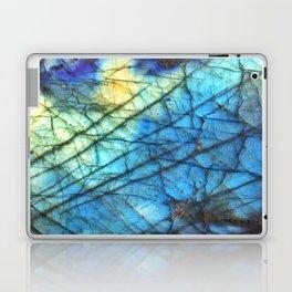 Royal Labradorite Crystal Agate Gemstone Print Laptop & iPad Skin