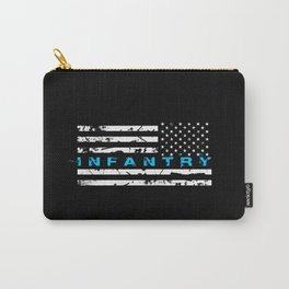 Infantry Blue Carry-All Pouch