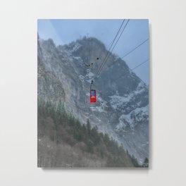 Fürenalpbahn Metal Print