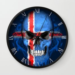 To The Core Collection: Iceland Wall Clock