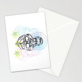 Gorilla Skull with Mandril Skulls Stationery Cards