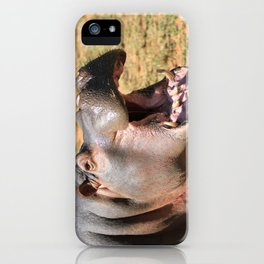 Hungry Hippo iPhone Case