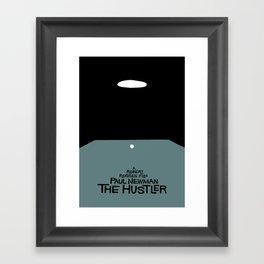 the hustler Framed Art Print