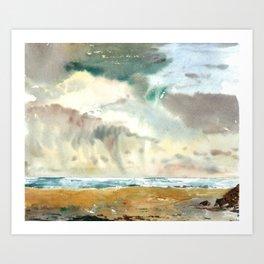 sea weather Art Print