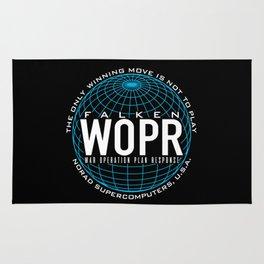 War Supercomputer Rug