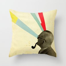 Mind-altering Throw Pillow