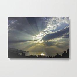 Morning sunshine Metal Print