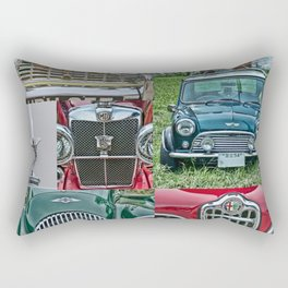 European Autos Rectangular Pillow