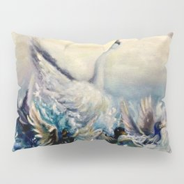 Ugly duckling transformation Pillow Sham