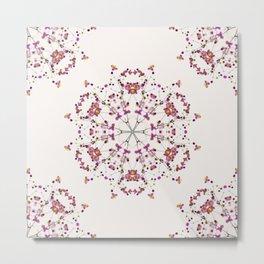 Floral Mandala II Metal Print