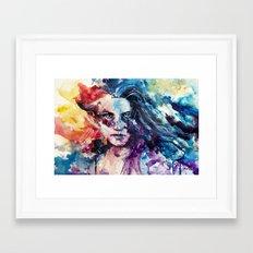 like wildfire Framed Art Print