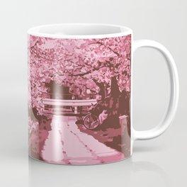 Sakura Monochrome Coffee Mug